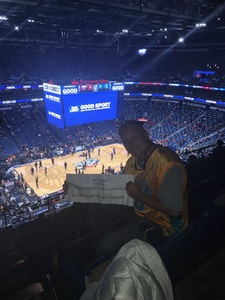 Richard attended New Orleans Pelicans vs. Orlando Magic - NBA on Oct 30th 2017 via VetTix