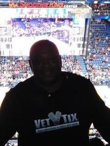 Marvin attended New Orleans Pelicans vs. Orlando Magic - NBA on Oct 30th 2017 via VetTix