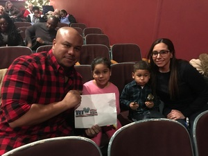 Johnny attended The Nutcracker - Performed by Ballet Long Island on Dec 27th 2017 via VetTix