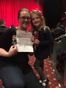 Phyllis attended The Nutcracker - Performed by Ballet Long Island on Dec 27th 2017 via VetTix