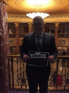 Jeffrey attended Mendelssohn's Scottish - Presented by the Cleveland Orchestra on Nov 10th 2017 via VetTix