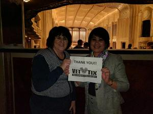 Chris attended Mendelssohn's Scottish - Presented by the Cleveland Orchestra on Nov 10th 2017 via VetTix