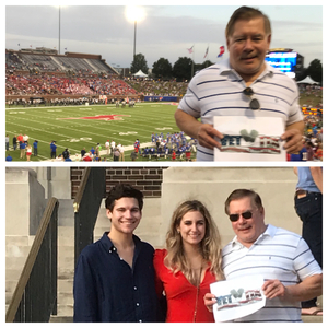 mike attended Smu Mustangs vs. Central Florida - NCAA Football on Nov 4th 2017 via VetTix