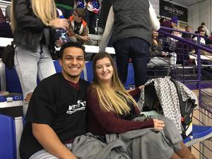 eric attended Lone Star Brahmas vs. Amarillo Bulls - NAHL on Nov 25th 2017 via VetTix