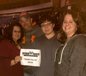 Amy attended Justin Moore: Hell on a Highway Tour on Nov 3rd 2017 via VetTix