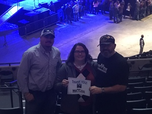 Nathan attended Justin Moore: Hell on a Highway Tour on Nov 3rd 2017 via VetTix