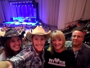 Stacy attended Justin Moore: Hell on a Highway Tour on Nov 3rd 2017 via VetTix