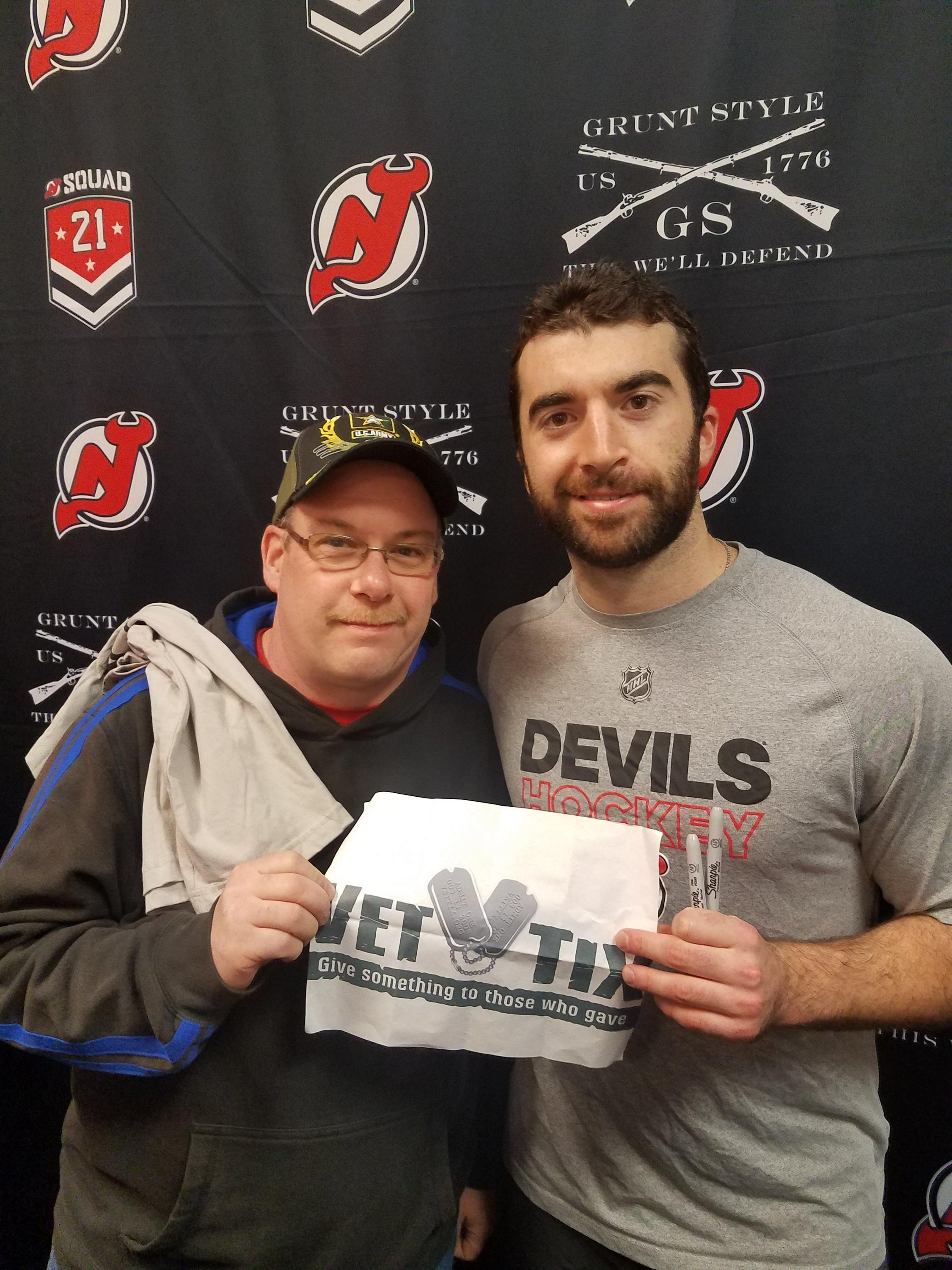 Thank you messages to veteran tickets foundation donors carlton attended new jersey devils vs florida panthers nhl 21 squad tickets with m4hsunfo