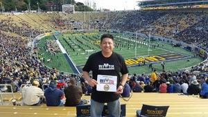 Joseph attended California Golden Bears vs. Oregon State - NCAA Football on Nov 4th 2017 via VetTix