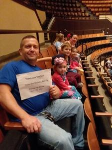 Robert attended Peppa Pig Live on Nov 28th 2017 via VetTix