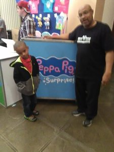 Marcellus attended Peppa Pig Live on Nov 28th 2017 via VetTix