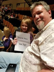 Wiley attended Peppa Pig Live on Nov 28th 2017 via VetTix