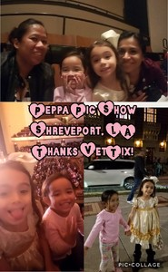 Eralyn attended Peppa Pig Live on Nov 28th 2017 via VetTix