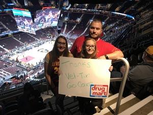 Matthew attended Cleveland Cavaliers vs. Milwaukee Bucks - NBA - Military Appreciation Night! on Nov 7th 2017 via VetTix