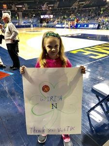 Click To Read More Feedback from Notre Dame Fighting Irish vs. Miami - NCAA Women's Basketball