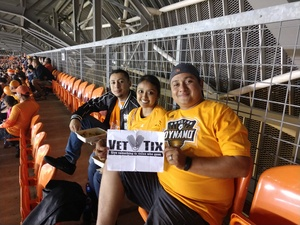 ALEJANDRO attended Houston Dynamo vs. Portland Timbers - Conference Semi-finals - MLS on Oct 30th 2017 via VetTix