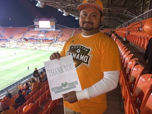 Juan Carlos attended Houston Dynamo vs. Portland Timbers - Conference Semi-finals - MLS on Oct 30th 2017 via VetTix