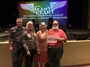 Raymond attended Heart by Heart on Nov 18th 2017 via VetTix