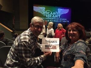 Ken attended Heart by Heart on Nov 18th 2017 via VetTix