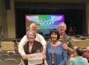 John attended Heart by Heart on Nov 18th 2017 via VetTix