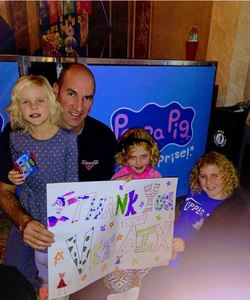 Ben attended Peppa Pig Live on Nov 15th 2017 via VetTix