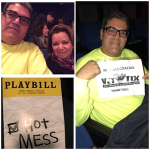 EDWIN attended Hot Mess: a Romantic Comedy That Goes Both Ways - Friday on Nov 10th 2017 via VetTix