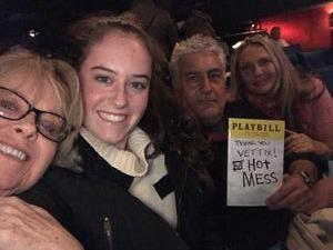 Ron attended Hot Mess: a Romantic Comedy That Goes Both Ways - Friday on Nov 10th 2017 via VetTix