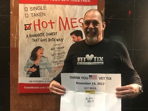 Steve attended Hot Mess: a Romantic Comedy That Goes Both Ways - Tuesday on Nov 14th 2017 via VetTix