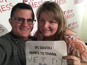 Patrick attended Hot Mess: a Romantic Comedy That Goes Both Ways - Tuesday on Nov 14th 2017 via VetTix