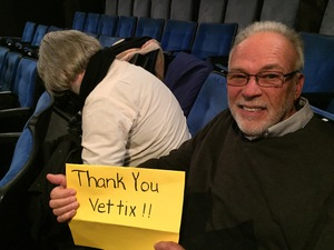 GERARD attended Hot Mess: a Romantic Comedy That Goes Both Ways - Tuesday on Nov 14th 2017 via VetTix