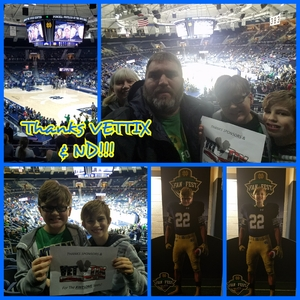 Click To Read More Feedback from Notre Dame Fighting Irish vs. Mount St. Mary's - NCAA Men's Basketball