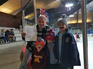 gene attended Minnesota Magicians vs. Springfield Jr Blues - NAHL on Nov 25th 2017 via VetTix