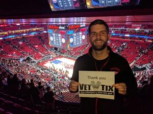 Craig attended Detroit Pistons vs. Atlanta Hawks - NBA - Military Appreciation Game! on Nov 10th 2017 via VetTix