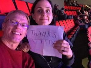 Jill attended Detroit Pistons vs. Atlanta Hawks - NBA - Military Appreciation Game! on Nov 10th 2017 via VetTix