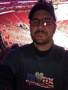 Arthur attended Detroit Pistons vs. Atlanta Hawks - NBA - Military Appreciation Game! on Nov 10th 2017 via VetTix