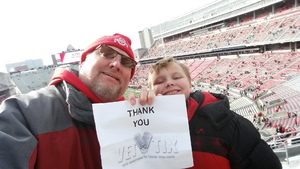 Richard attended Ohio State Buckeyes vs. Michigan State - NCAA Football - Military/veteran Appreciation Day Game on Nov 11th 2017 via VetTix