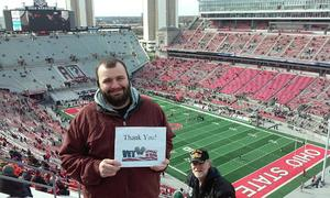 Click To Read More Feedback from Ohio State Buckeyes vs. Michigan State - NCAA Football - Military/veteran Appreciation Day Game