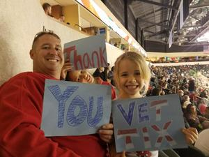 Click To Read More Feedback from Texas Stars vs. Grand Rapids Griffins - Veterans Day Military Appreciation Game - AHL