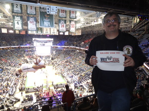GSM1(SW) Roy Spielbauer attended Milwaukee Bucks vs. Los Angeles Lakers - NBA - Military Appreciation Game! on Nov 11th 2017 via VetTix