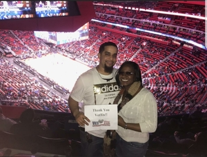 Christopher attended Detroit Pistons vs. Phoenix Suns - NBA on Nov 29th 2017 via VetTix