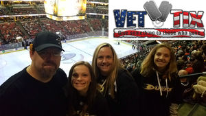 Click To Read More Feedback from Anaheim Ducks vs. Florida Panthers - NHL - Antis Roofing Community Corner!