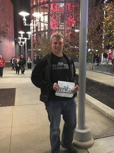 Kristian attended New Jersey Devils vs. Boston Bruins - NHL on Nov 22nd 2017 via VetTix