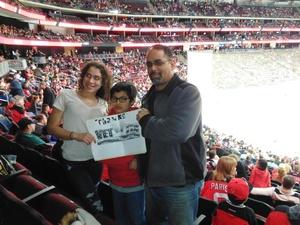 ricardo attended New Jersey Devils vs. Boston Bruins - NHL on Nov 22nd 2017 via VetTix