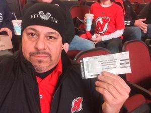 Ernesto A attended New Jersey Devils vs. Florida Panthers - NHL on Nov 27th 2017 via VetTix