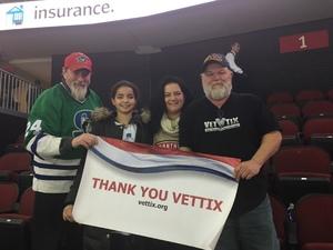 Bruce attended New Jersey Devils vs. Florida Panthers - NHL on Nov 27th 2017 via VetTix