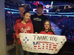 sean attended New Jersey Devils vs. Florida Panthers - NHL on Nov 27th 2017 via VetTix