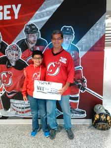 ricardo attended New Jersey Devils vs. Florida Panthers - NHL on Nov 27th 2017 via VetTix