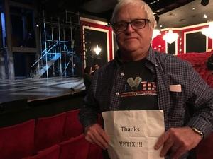 Richard attended 42nd Street on Nov 25th 2017 via VetTix