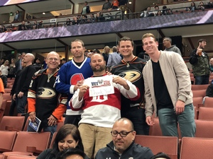 Justin attended Anaheim Ducks vs. Vegas Golden Knights - NHL on Nov 22nd 2017 via VetTix