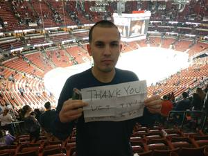 michael attended Anaheim Ducks vs. Vegas Golden Knights - NHL on Nov 22nd 2017 via VetTix
